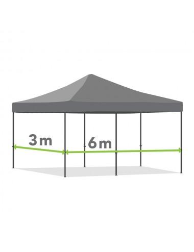 Tonnelle pliante de 3m x 6m