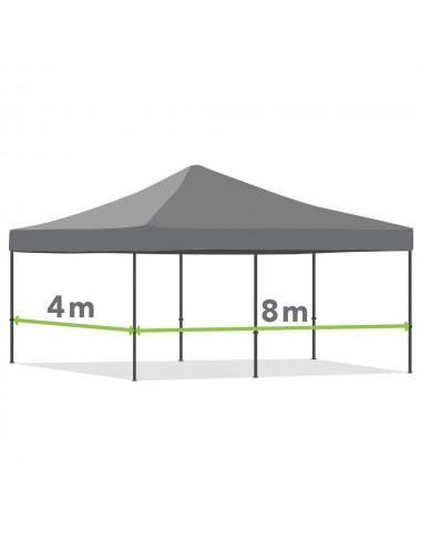 Tonnelle pliante de 4m x 8m