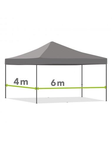 Tonnelle pliante de 4m x 6m